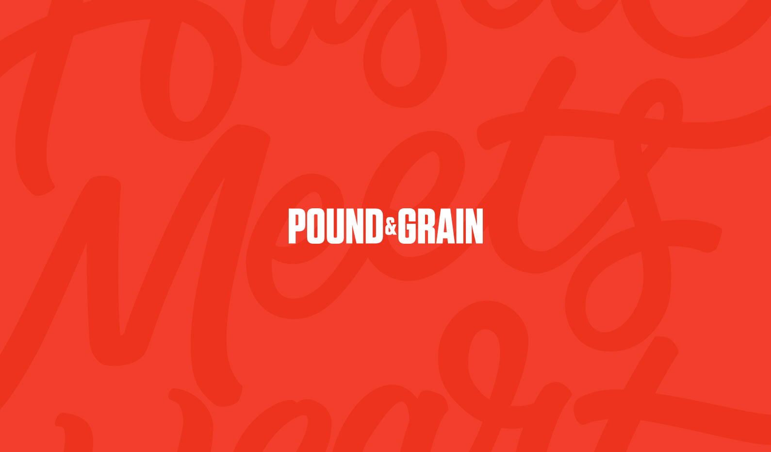 Pound & Grain Website